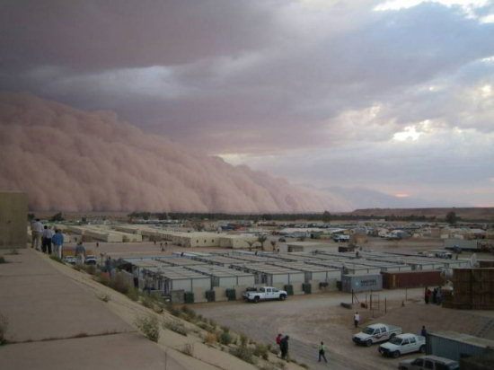 iraq sand storm picture 1