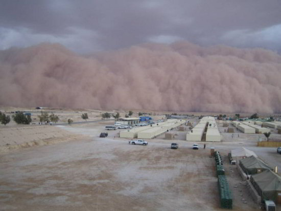 iraq sand storm picture 2