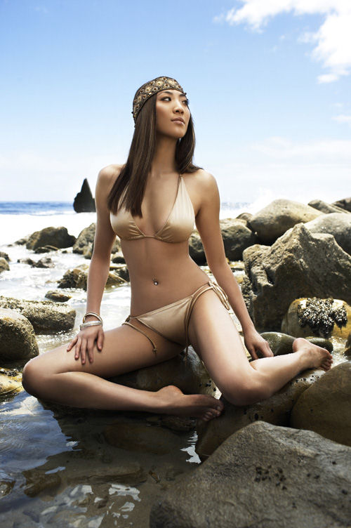 American bikini line model next top