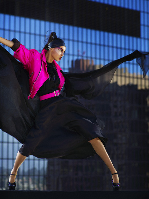 Top 9 Fashion Magazine Covers September 2013 Fashioncover: America's Next Top Model 9 Winner: Saleisha