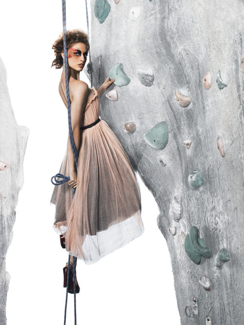 america's next top model 9 - Rock Climbing Photoshoot pictures!