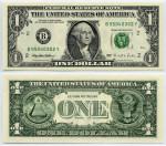President On One Dollar Bill