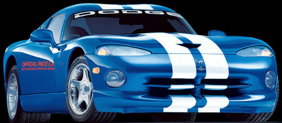 dodge viper official pace car