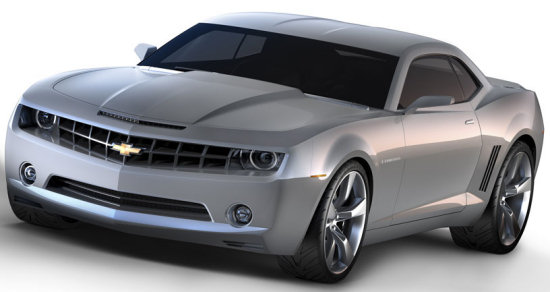 official picture of the chevy camaro concept 2006
