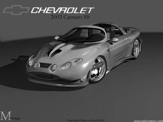 Chevrolet Camaro Concept Cars New And Past Designs From GM ...
