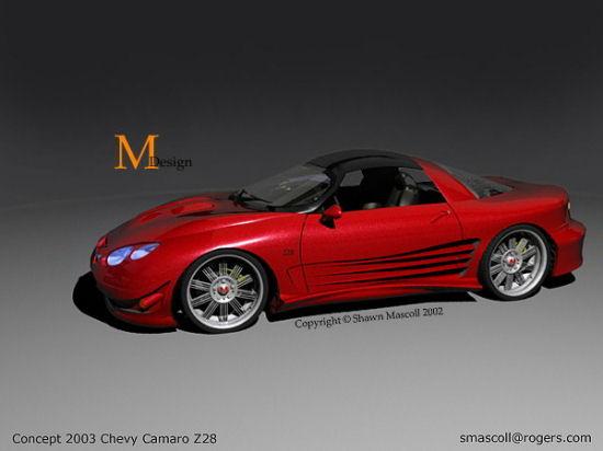 chevy camaro z28 concept