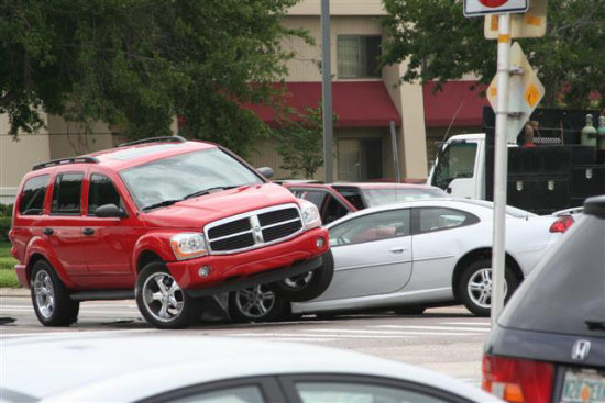 dodge durango car accident
