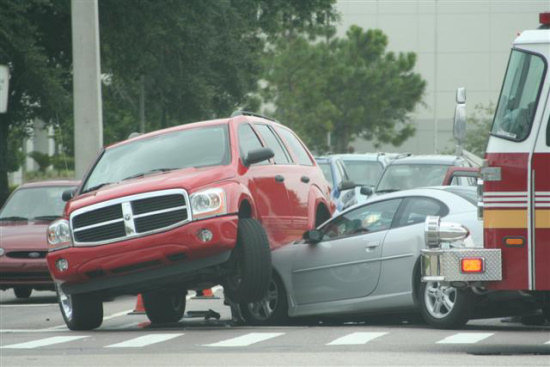 dodge durango truck accident