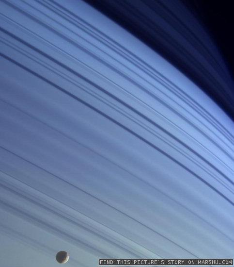 Saturn: Blue Planet Revealed