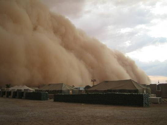 iraq sand storm picture 4