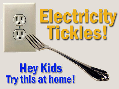 fark photoshop - electricity tickles