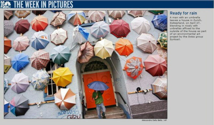 week in pictures ready for rain umbrellas